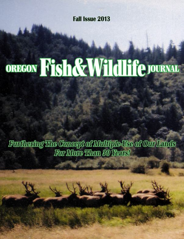 fall 2013 oregon fish & wildlife journal