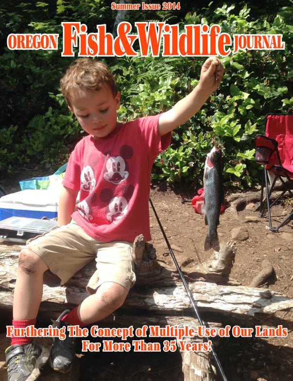 Summer 2014 oregon fish & wildlife journal