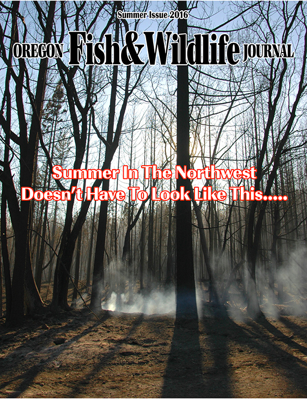 summer 2016 oregon fish & wildlife journal